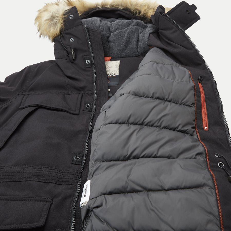 SKIDOO OPEN LONG - Skidoo Open Jacket - Jakker - Regular - SORT - 11