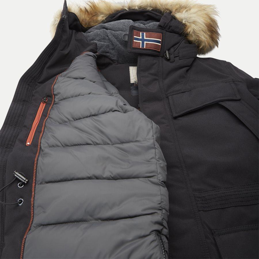 SKIDOO OPEN LONG - Skidoo Open Jacket - Jakker - Regular - SORT - 12