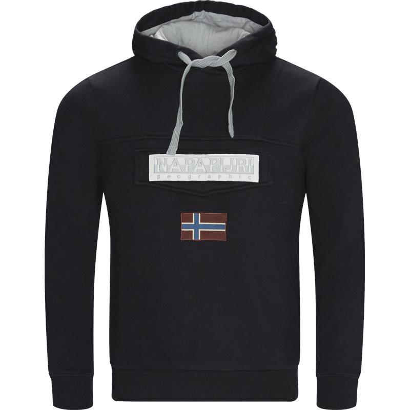 Napapijri - burgee2 hoodie fra napapijri på kaufmann.dk