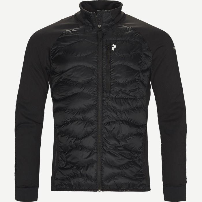 Heliuhybj Sweatshirt - Sweatshirts - Regular - Sort