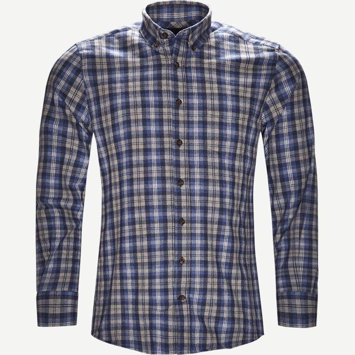 Button-down Skjorte - Skjorter - Regular - Blå