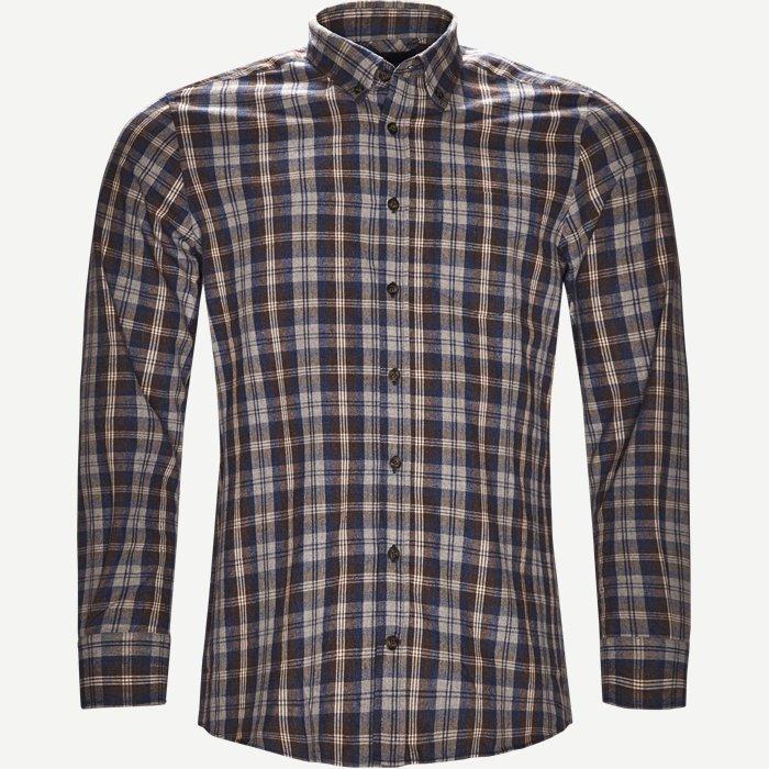 Button-down Skjorte - Skjorter - Regular - Brun