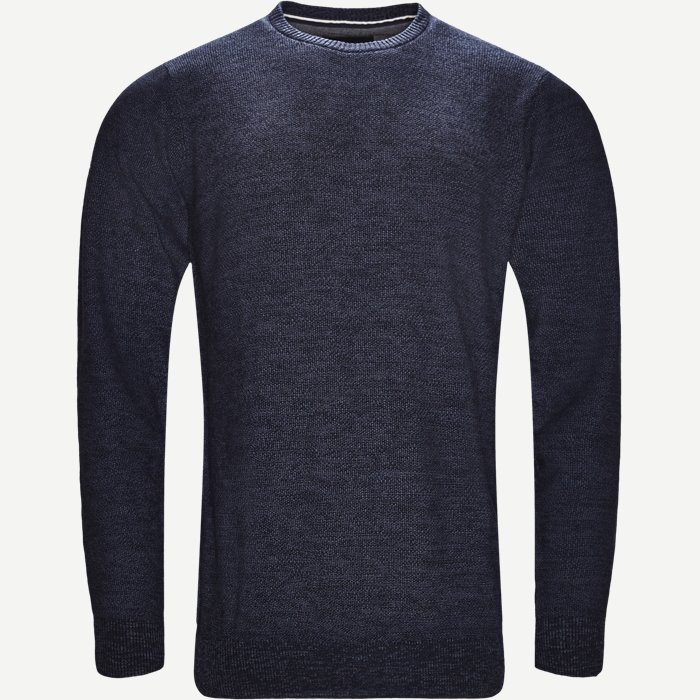 Crew Neck Strik - Strik - Regular - Denim