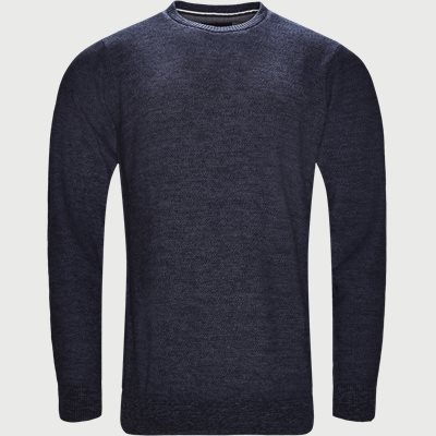 Crew Neck Strik Regular | Crew Neck Strik | Denim