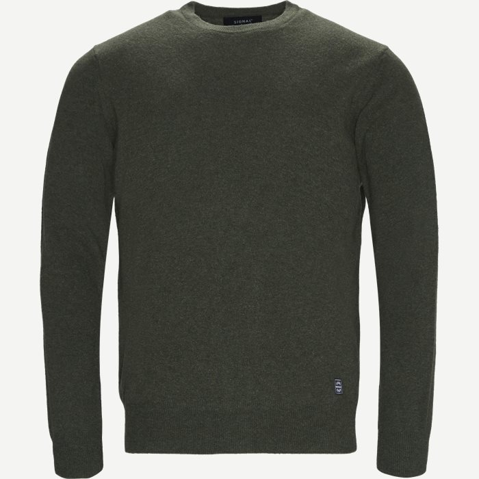Ricco Knit - Strik - Regular - Army