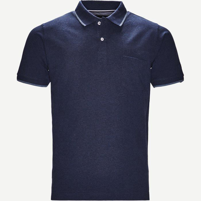 Polo - T-shirts - Regular - Denim