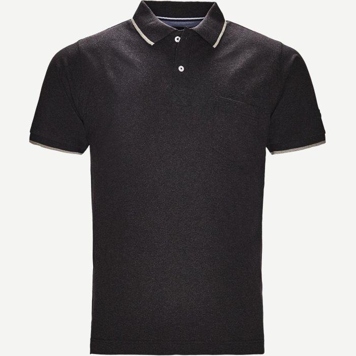 Polo - T-shirts - Regular - Grå