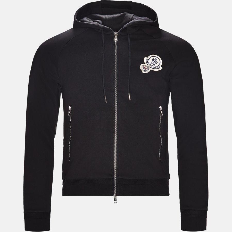 84010 80451 - sweat - Sweatshirts - Regular fit - SORT - 1