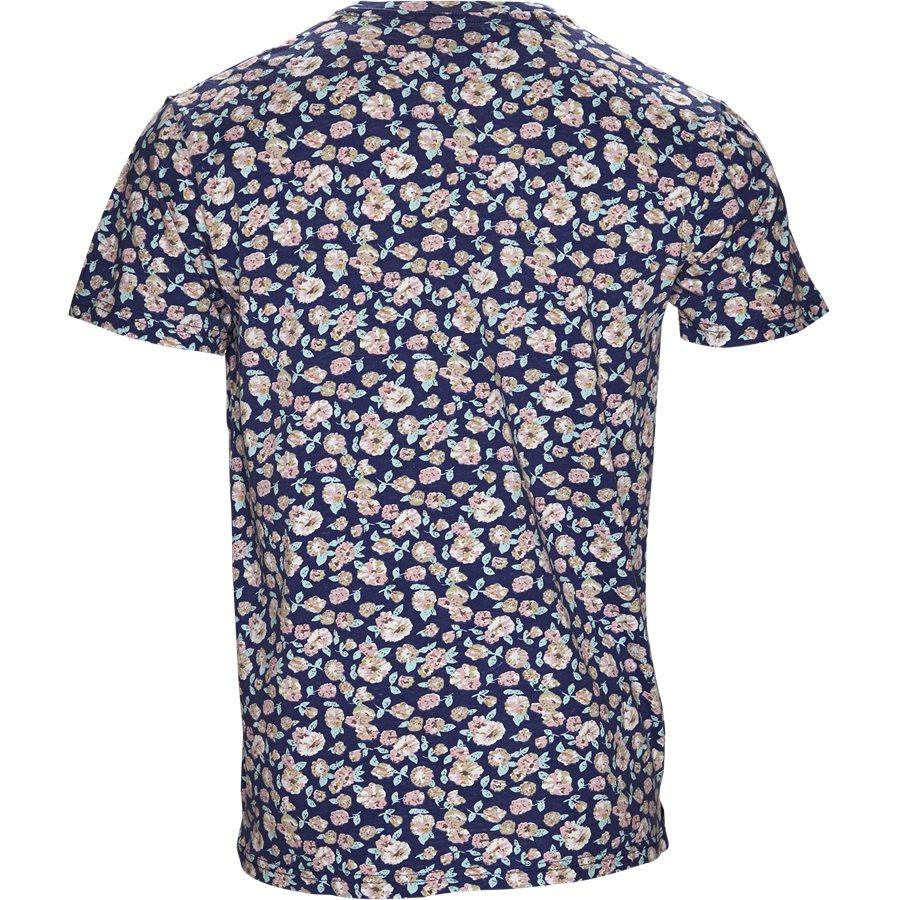 CENTRAL FLOWER TEE JJ809 - Central Flower Tee - T-shirts - Regular - NAVY - 2