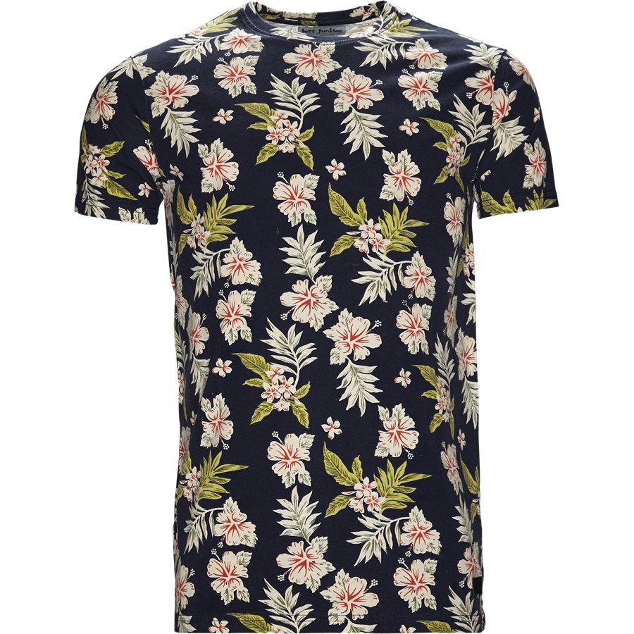 EUROPE FLOWER TEE JJ810 - Europe Flower Tee - T-shirts - Regular - SORT - 1