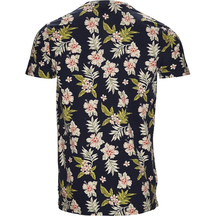 EUROPE FLOWER TEE JJ810 - Europe Flower Tee - T-shirts - Regular - SORT - 2