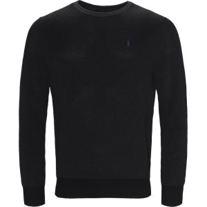 Pima Cotton Textured Crew Neck Pullover Regular | Pima Cotton Textured Crew Neck Pullover | Grå