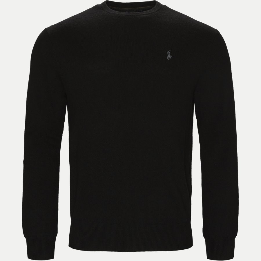 710667378. - Classics Crew Neck Pullover - Strik - Regular - SORT - 1