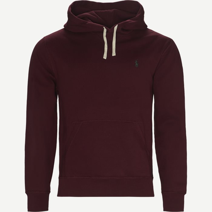 Alhletic Hoodie Sweatshirt - Sweatshirts - Regular - Bordeaux