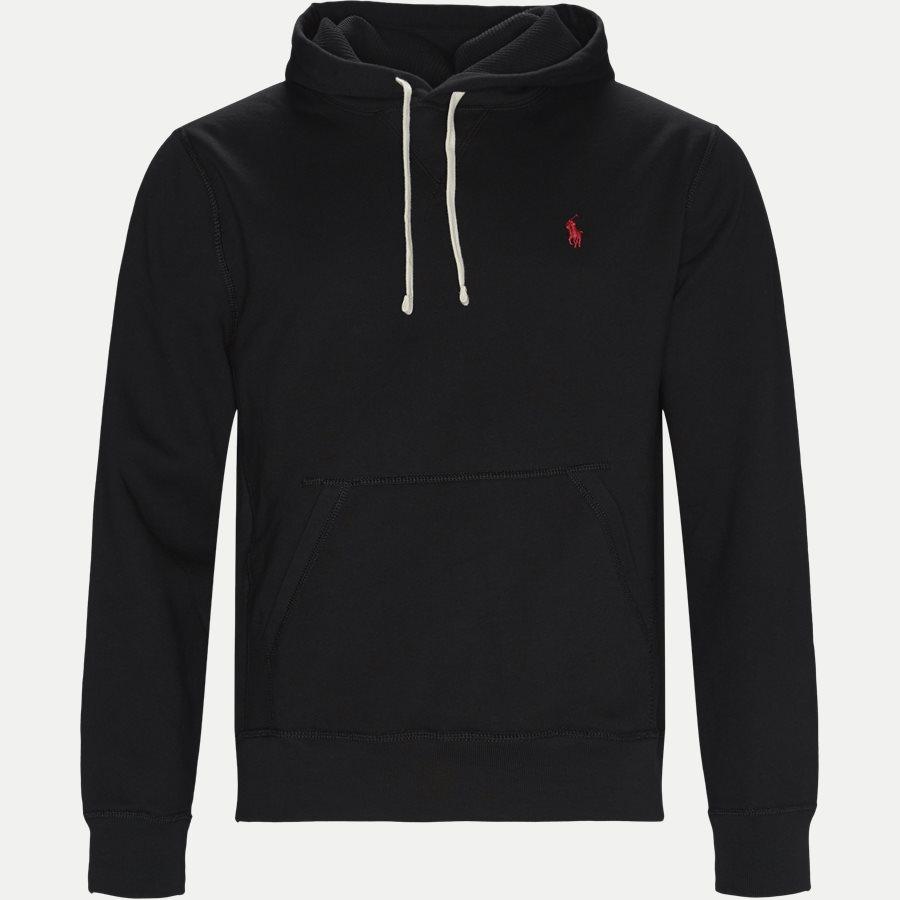710728760 - Alhletic Hoodie Sweatshirt - Sweatshirts - Regular - SORT - 1