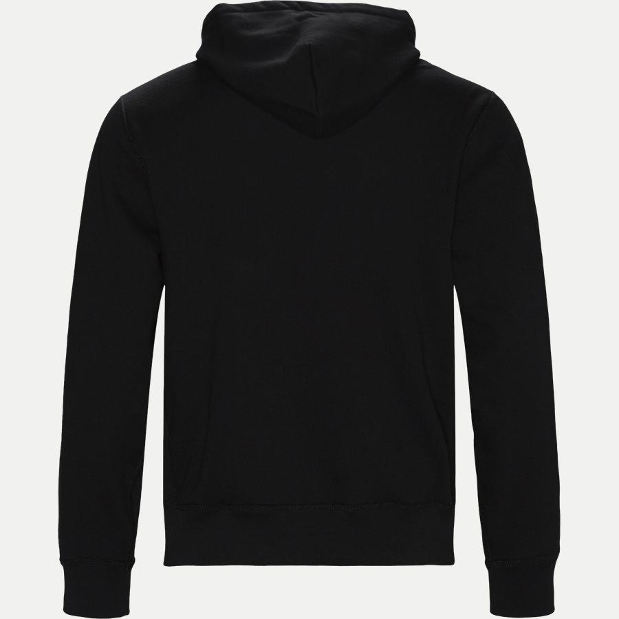 710728760 - Alhletic Hoodie Sweatshirt - Sweatshirts - Regular - SORT - 2