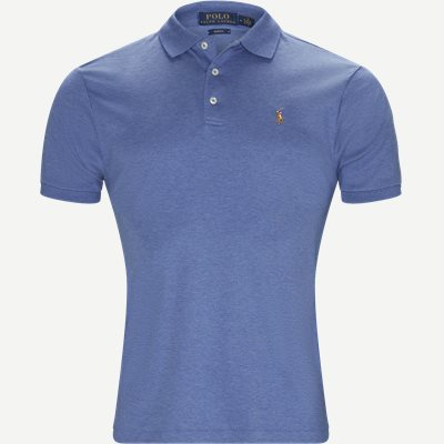 Soft-Touch Polo T-shirt Slim | Soft-Touch Polo T-shirt | Denim
