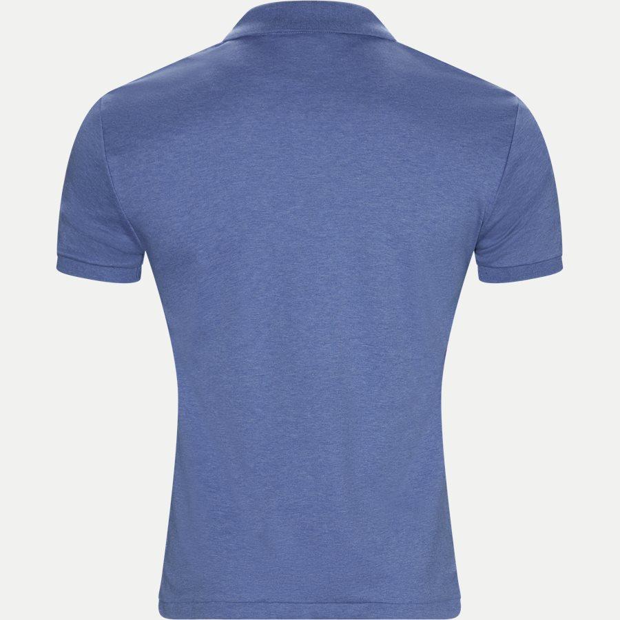 710685514 - Soft-Touch Polo T-shirt - T-shirts - Slim - DENIM - 2