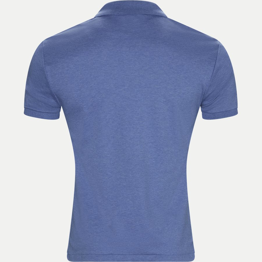 710685514 - Soft-Touch Polo T-shirt - T-shirts - Slim - DENIM - 2