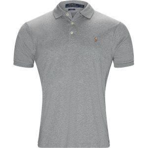 Soft-Touch Polo T-shirt Slim | Soft-Touch Polo T-shirt | Grå