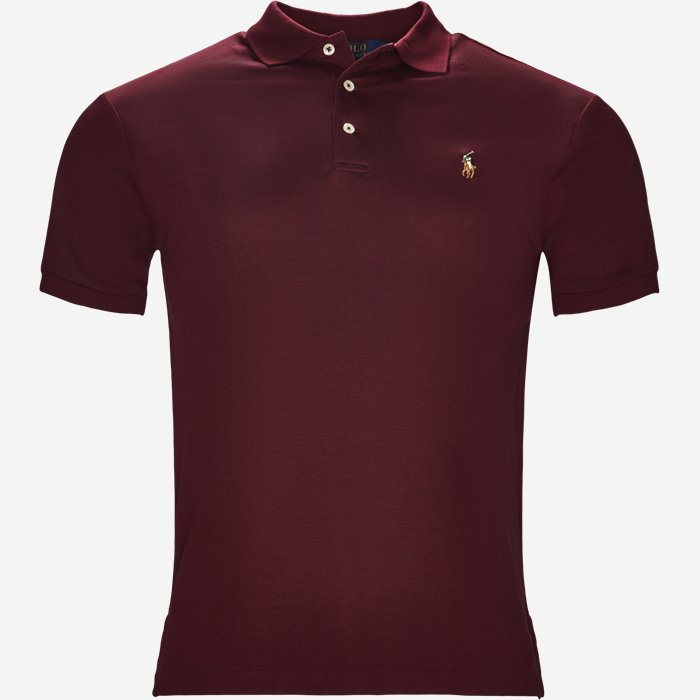 Classic Polo - T-shirts - Slim - Bordeaux