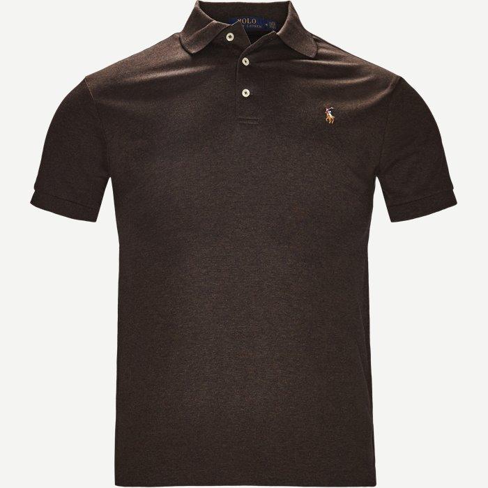 Classic Polo - T-shirts - Slim - Brun