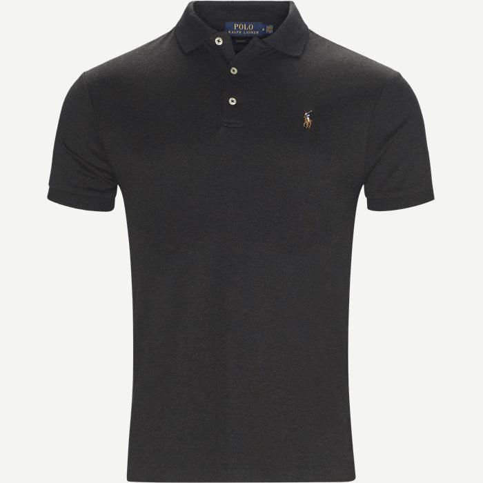 Classic Polo - T-shirts - Slim - Grå