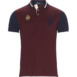 Big Pony Polo Shirt Regular slim fit | Big Pony Polo Shirt | Bordeaux