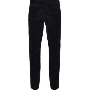 Corduroy Trousers Slim | Corduroy Trousers | Blå