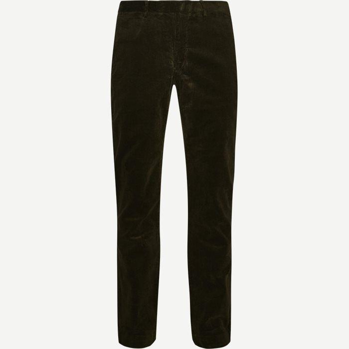 Corduroy Trousers - Bukser - Slim - Army