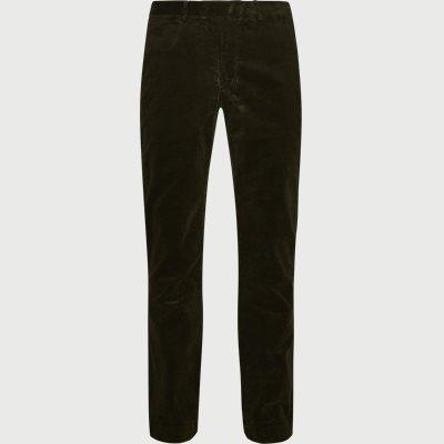 Corduroy Trousers Slim   Corduroy Trousers   Army