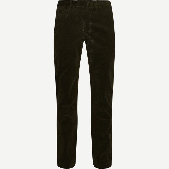 Corduroy Trousers - Bukser - Slim - Army
