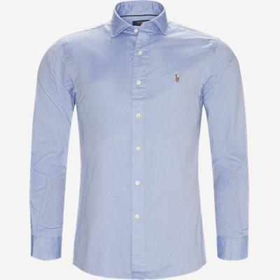 Luxury Oxford Shirt Slim | Luxury Oxford Shirt | Blå