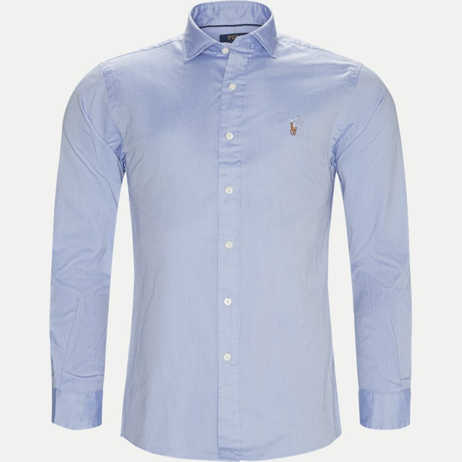 710723600 - Luxury Oxford Shirt - Skjorter - Slim - BLÅ - 1