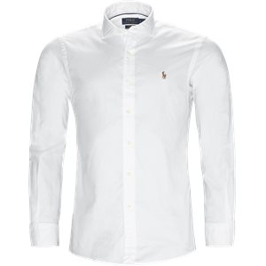 Luxury Oxford Shirt Slim | Luxury Oxford Shirt | Hvid