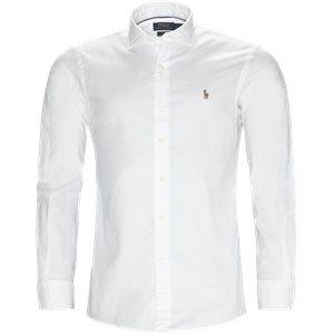 Luxury Oxford Shirt Slim | Luxury Oxford Shirt | Hvid