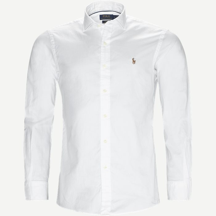 Luxury Oxford Shirt - Skjorter - Slim - Hvid