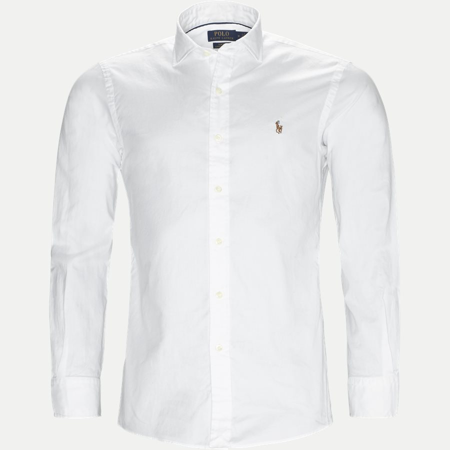710723600 - Luxury Oxford Shirt - Skjorter - Slim - HVID - 1