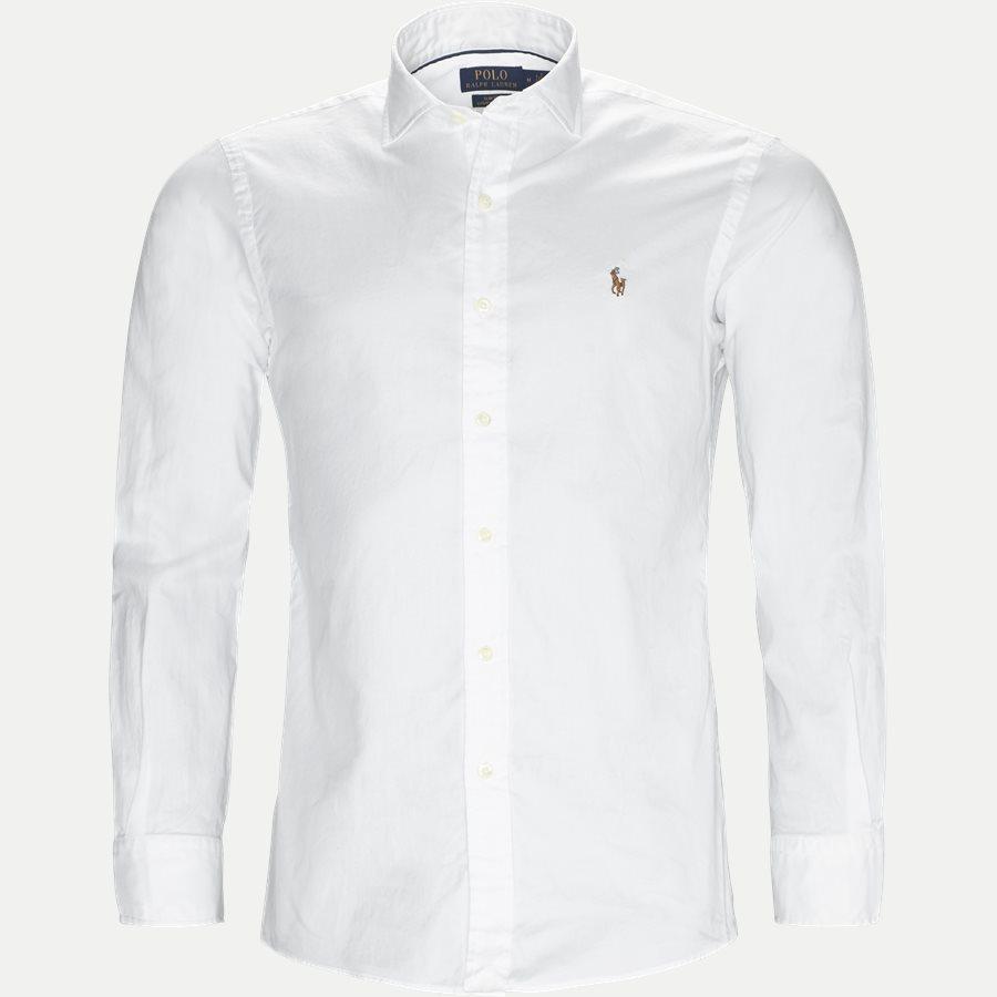710723600 - Luxury Oxford Shirt - Skjorter - Slim - HVID - 1