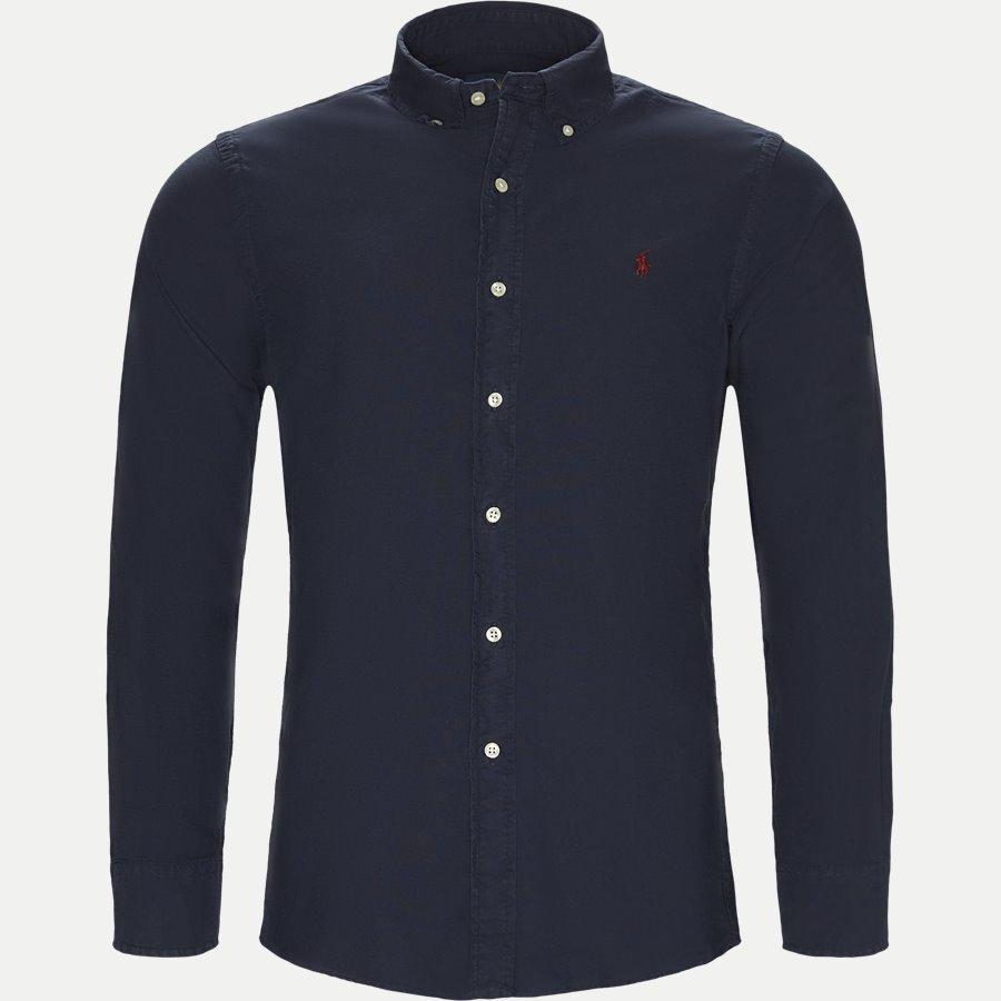 710723610. - Classic Oxford Shirt - Skjorter - Slim - NAVY - 1