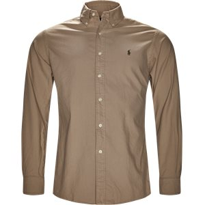 Classic Oxford Shirt Slim | Classic Oxford Shirt | Sand
