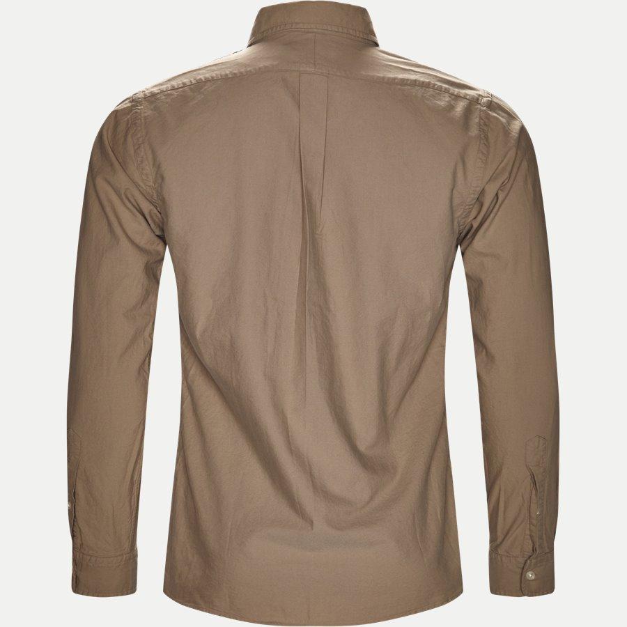710723610. - Classic Oxford Shirt - Skjorter - Slim - SAND - 2
