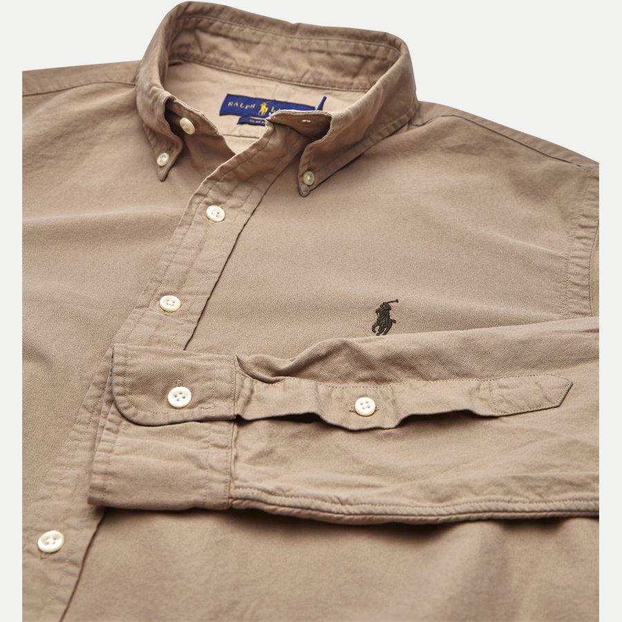710723610. - Classic Oxford Shirt - Skjorter - Slim - SAND - 3
