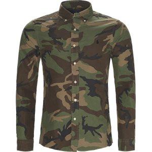 Oxford Camo Shirt Slim | Oxford Camo Shirt | Army