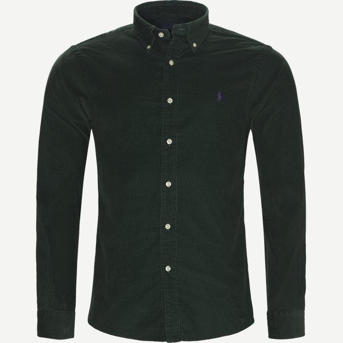 Hemden - Slim - Grün
