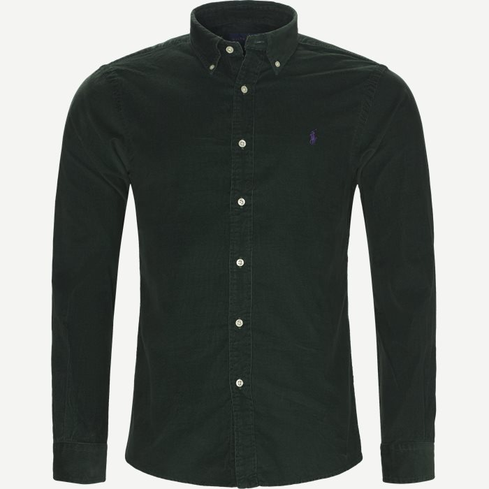 Skjortor - Slim - Grön