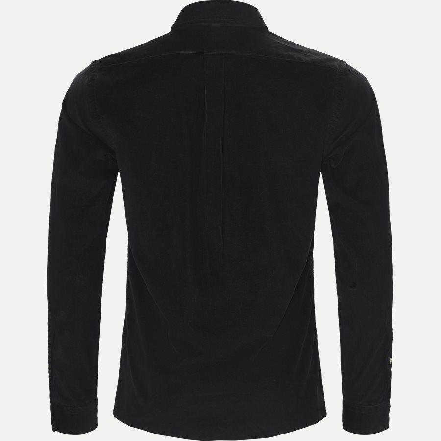 710723580 - Corduroy Shirt - Skjorter - Slim - SORT - 2