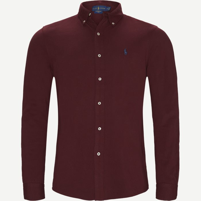 Featherweight Mesh Shirt - Skjorter - Regular - Bordeaux