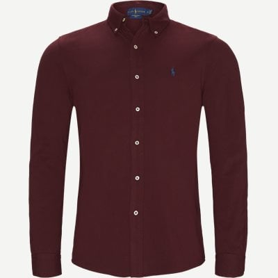 Featherweight Mesh Shirt Regular | Featherweight Mesh Shirt | Bordeaux