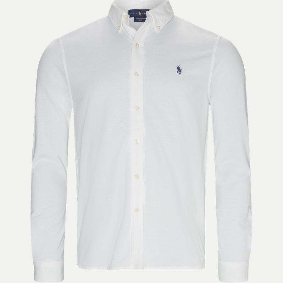 710654408.. - Featherweight Mesh Shirt - Skjorter - Regular - HVID - 1